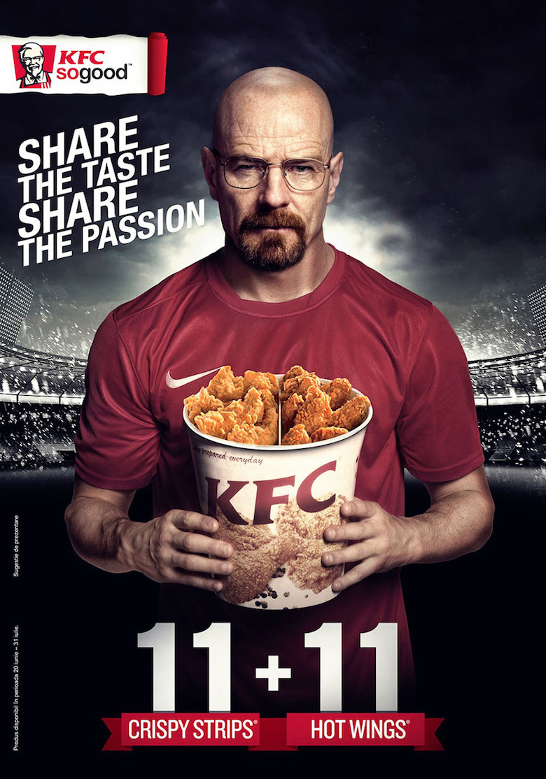 If Walter White endorsed KFC