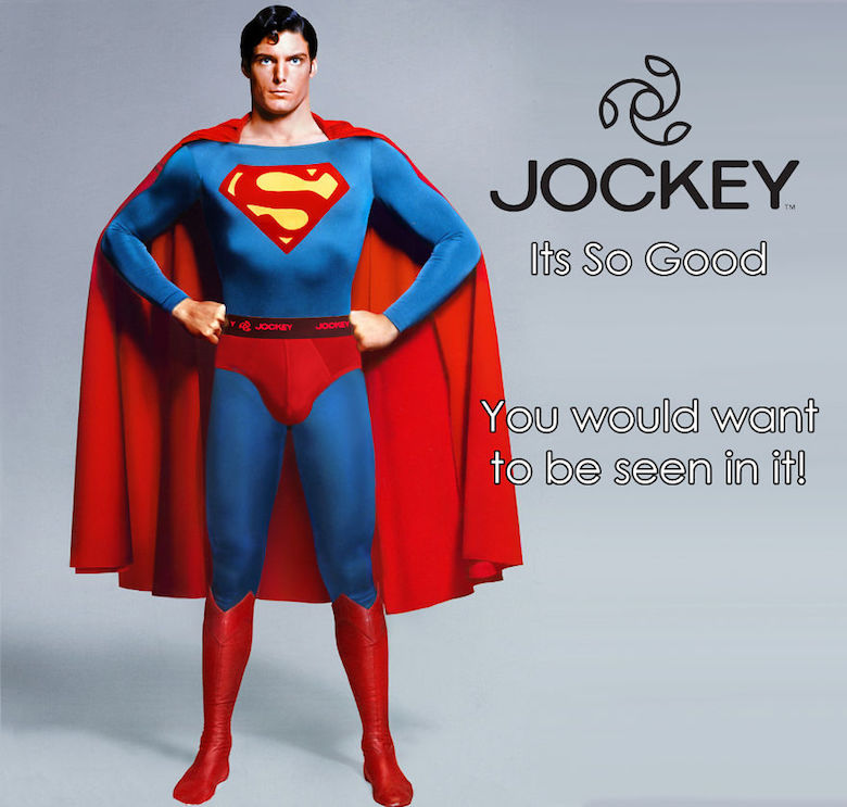 If Superman endorsed Jockey