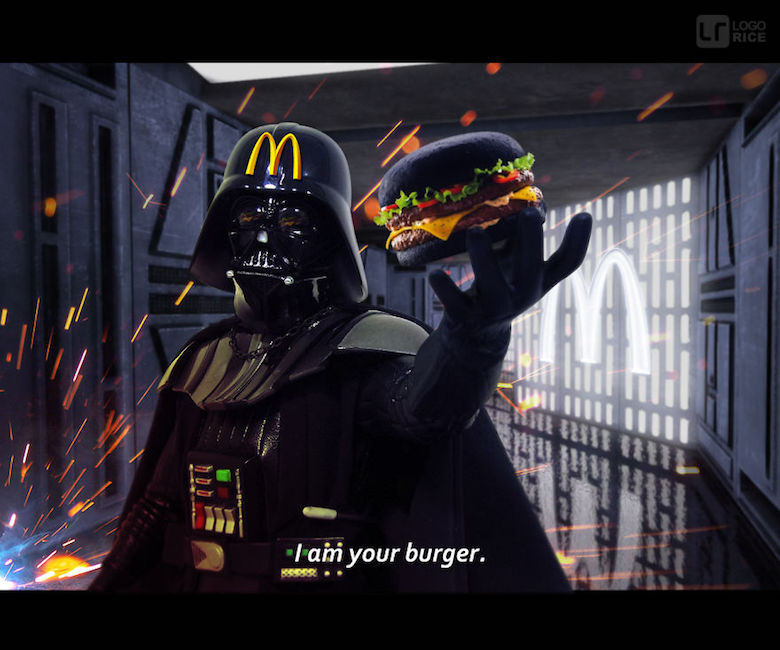 If Darth Vader endorsed McDonald's