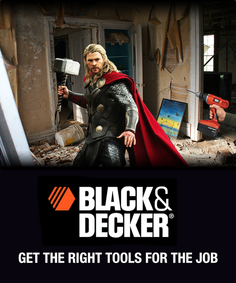 If Thor endorsed Black & Decker