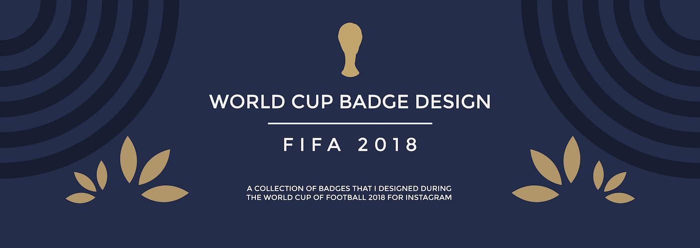 World Cup Badge Design