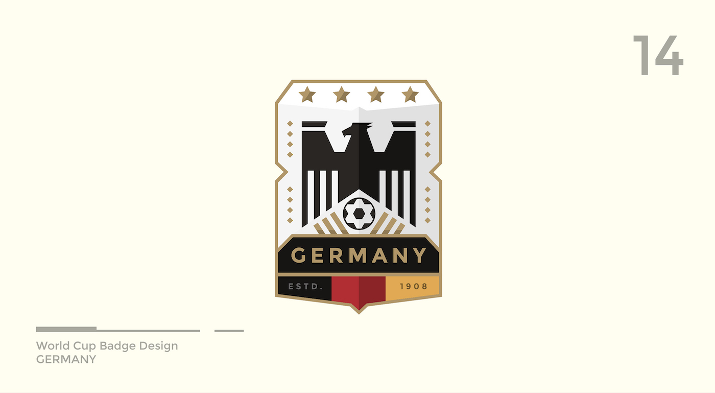 World Cup Badge Design - Germany