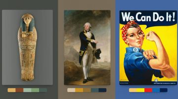 This Handy New Tool Shows You Color Palettes Of Artworks From Different Eras