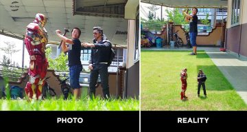 This Guy Uses Forced Perspective To Capture Awesome Photos With Toy Superheroes