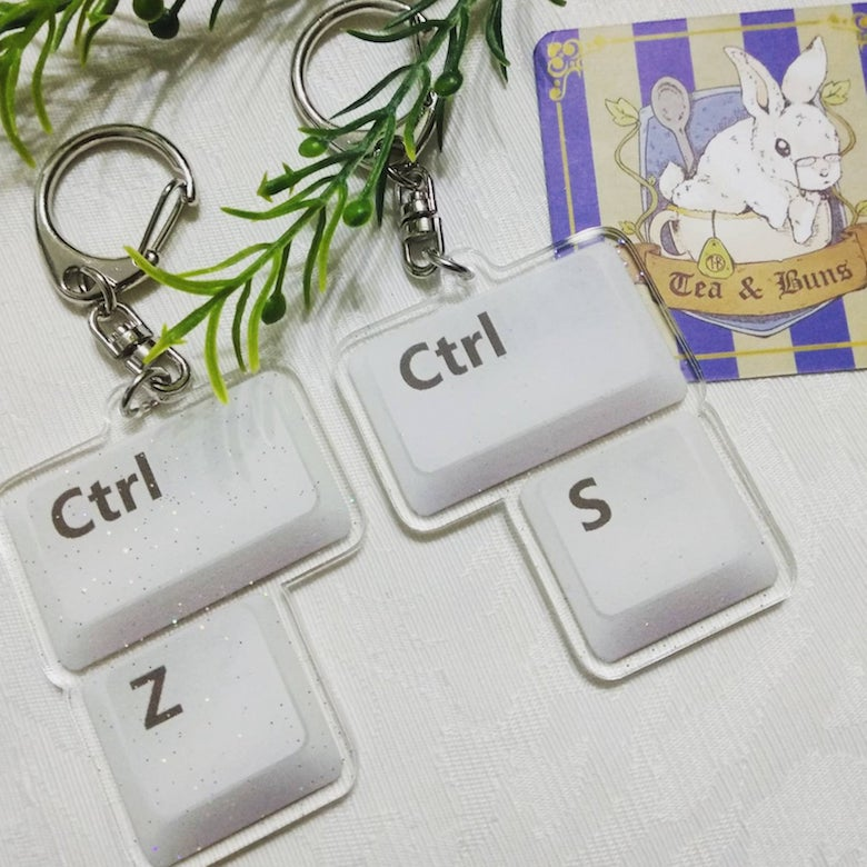 Keychains for graphic designers - 10