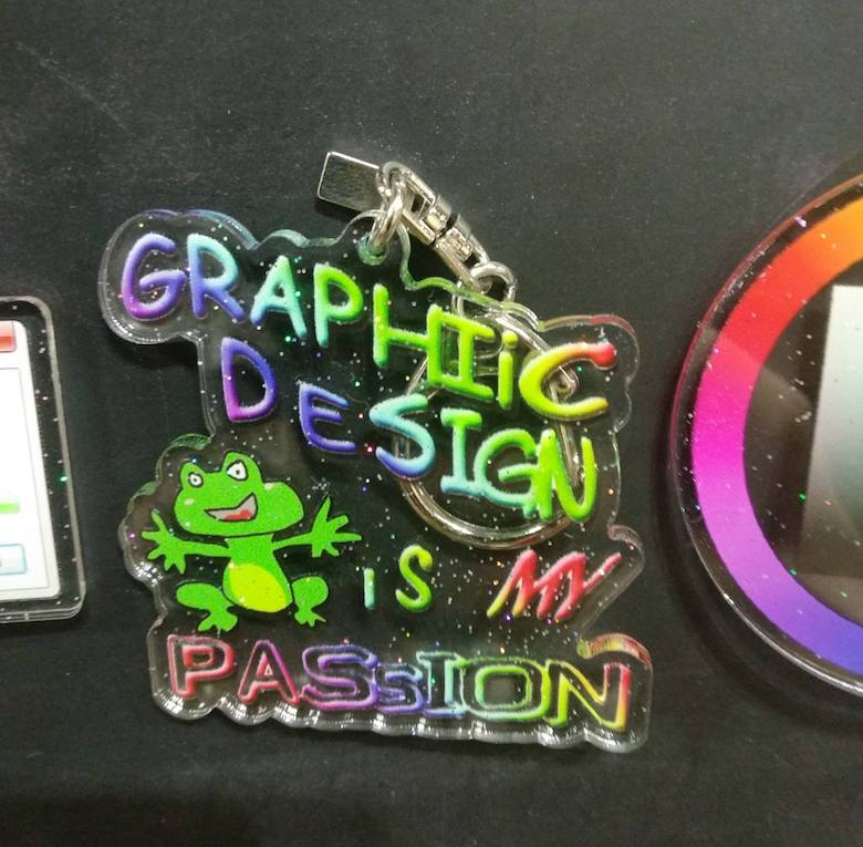 Keychains for graphic designers - 7