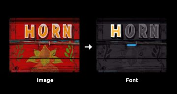 Adobe Fontphoria Can Capture Text In Images And Convert Them To Fonts