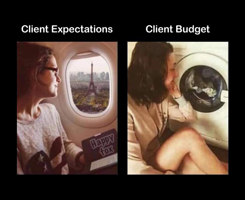 Client Expectations vs. Client Budget