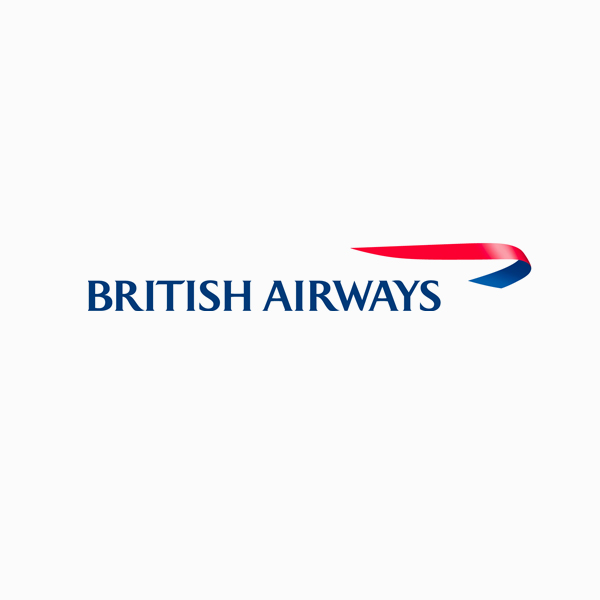 Logo designs for companies with long names - British Airways
