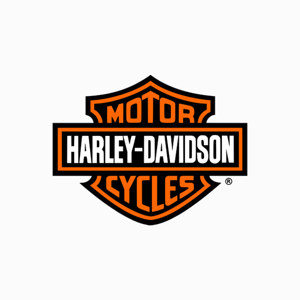 Logo designs for companies with long names - Harley Davidson Motorcycles