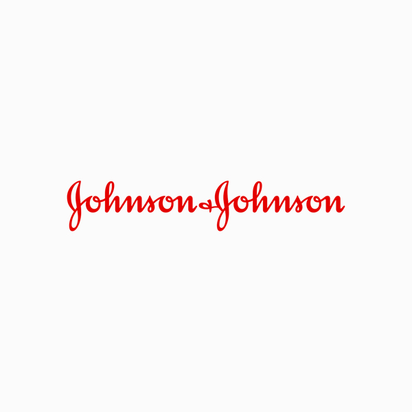 Logo designs for companies with long names - Johnson & Johnson