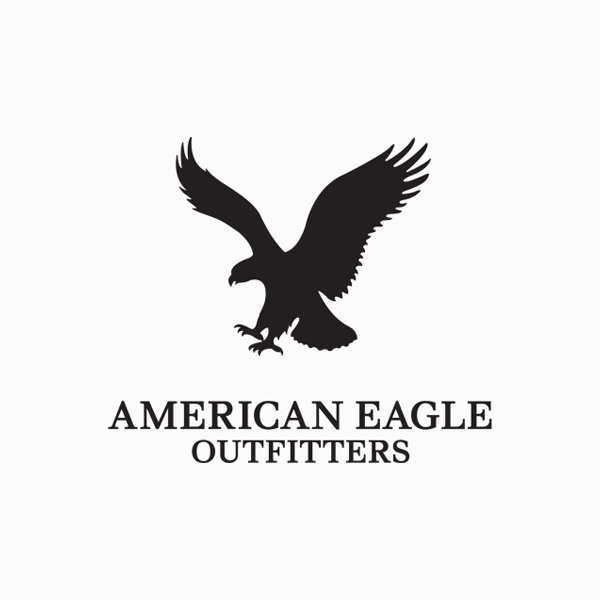 Logo designs for companies with long names - American Eagle Outfitters
