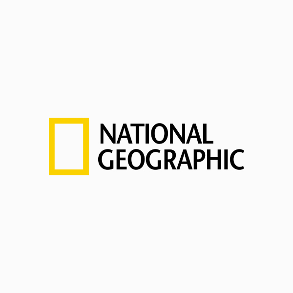Logo designs for companies with long names - National Geographic