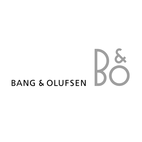 Logo designs for companies with long names - Bang & Olufsen