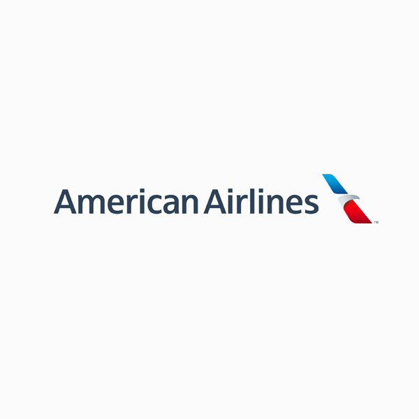 Logo designs for companies with long names - American Airlines