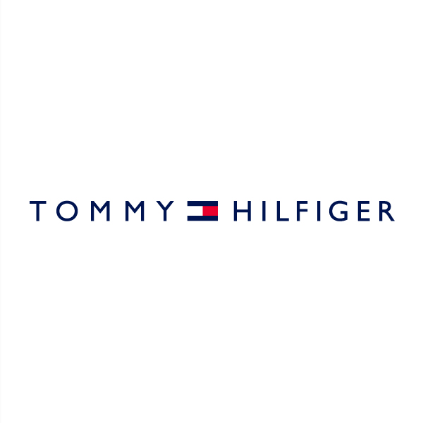 Logo designs for companies with long names - Tommy Hilfiger