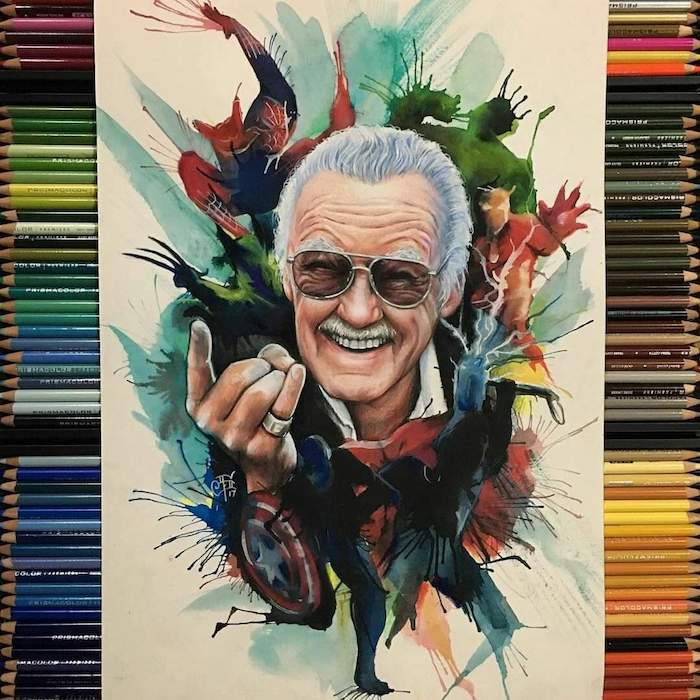 Stan Lee Art Tributes - 10