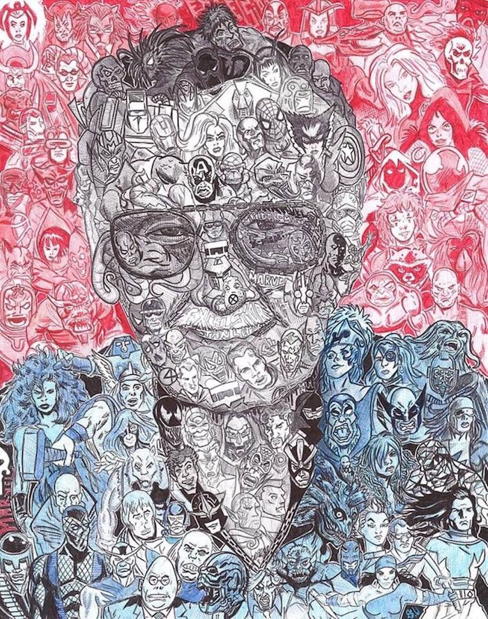 Stan Lee Art Tributes - 13