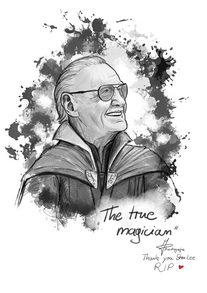 Stan Lee Art Tributes - 15