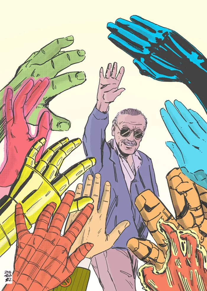 Stan Lee Art Tributes - 5