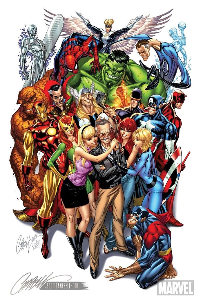Stan Lee Art Tributes - 9