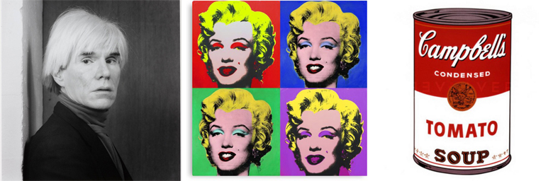 Logos of famous partners - Andy Warhol (1)