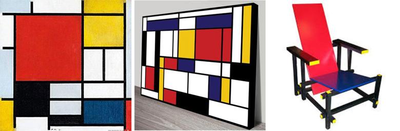 Logos of famous partners - Piet Mondrian (1)