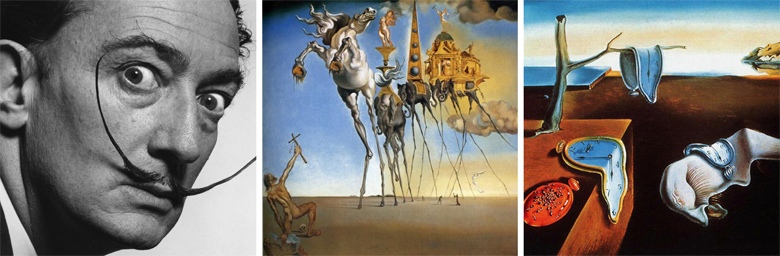 Logos of famous partners - Salvador Dali (1)