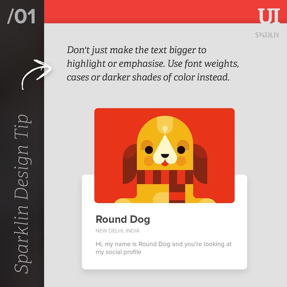 UI/UX design tips - 1