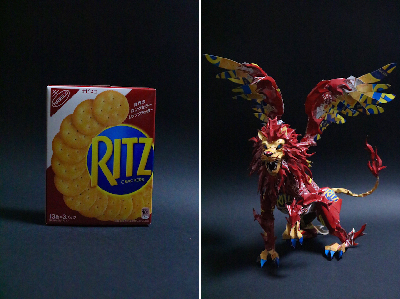 Product Packaging Turned Into Art - 2a