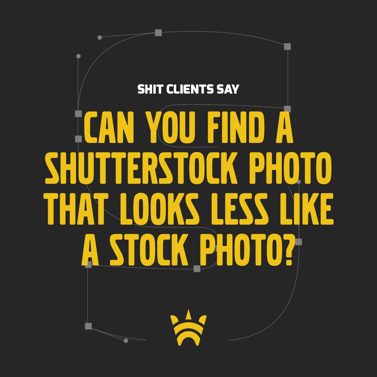 Can you find a Shutterstock photo that looks less like a stock photo?