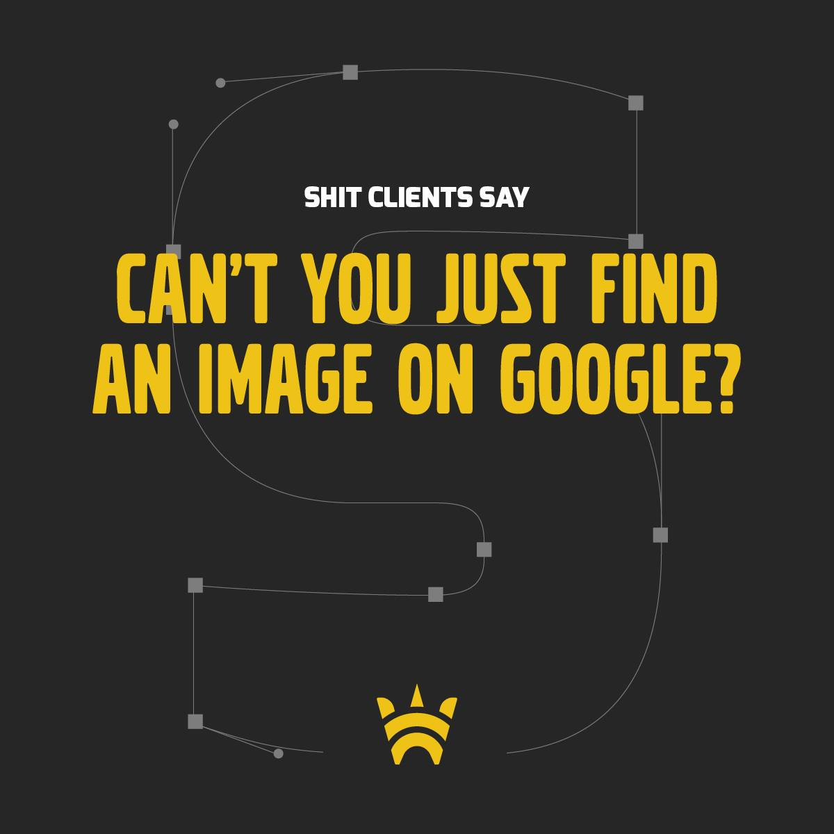 Can't you just find an image on Google?