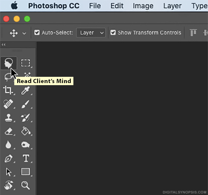 Photoshop: Read Client's Mind Tool