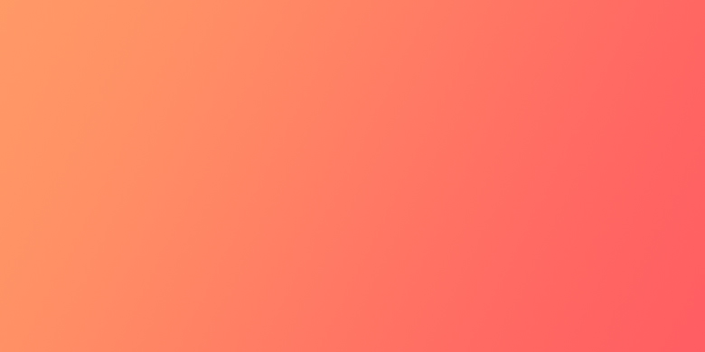 Gradients for Photoshop, Background, UI - Orange Coral