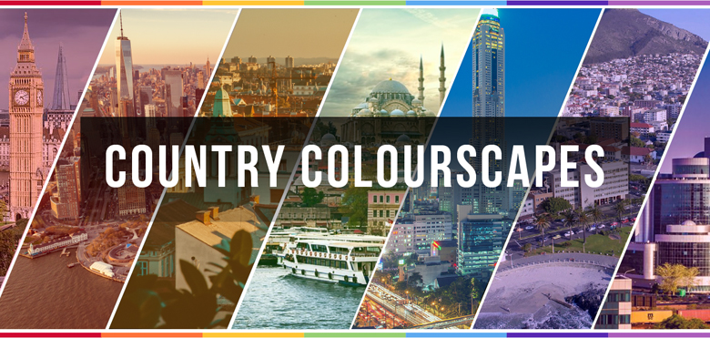 Colors of countries - Intro