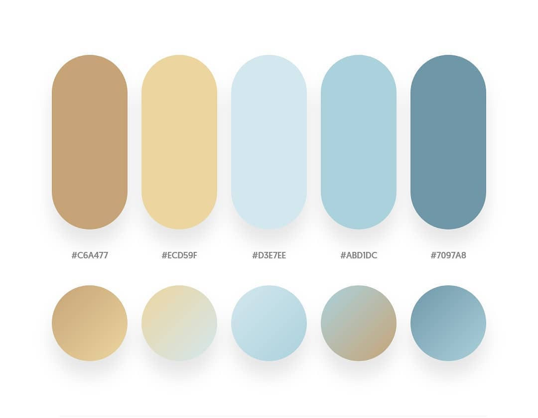 32 Beautiful Color Palettes With Their Corresponding ...