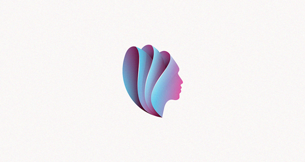 Beautiful, Creative Gradient Logo Design - 13