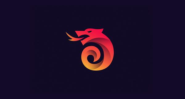 Beautiful, Creative Gradient Logo Design - 19