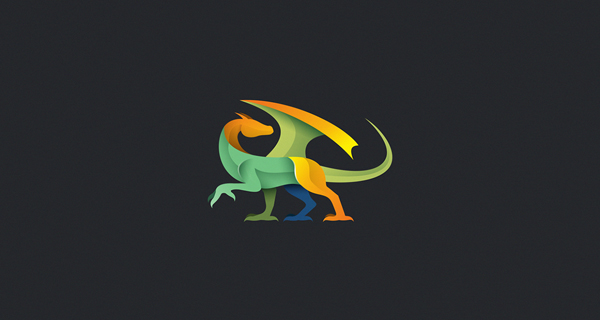 Beautiful, Creative Gradient Logo Design - 25