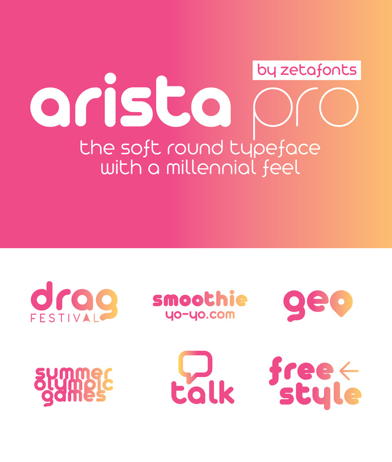 Best Free Fonts - Arista Pro