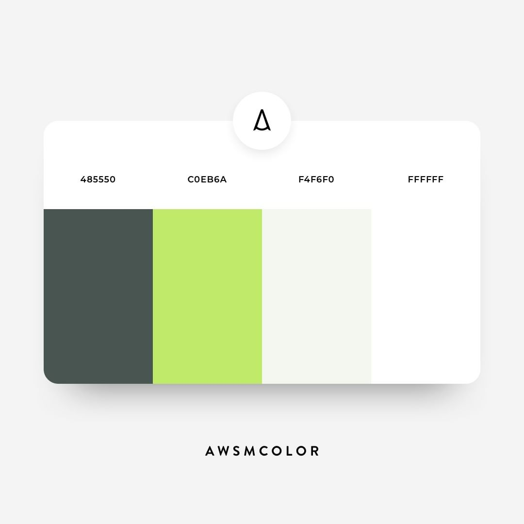 Green color shades, palettes, combinations, schemes
