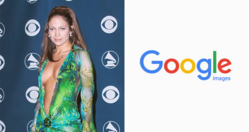 Jennifer Lopez's Iconic Green Dress Inspired Google To Come Up With Image Search