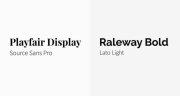 11 Great Font Combinations For Your Next Design Project