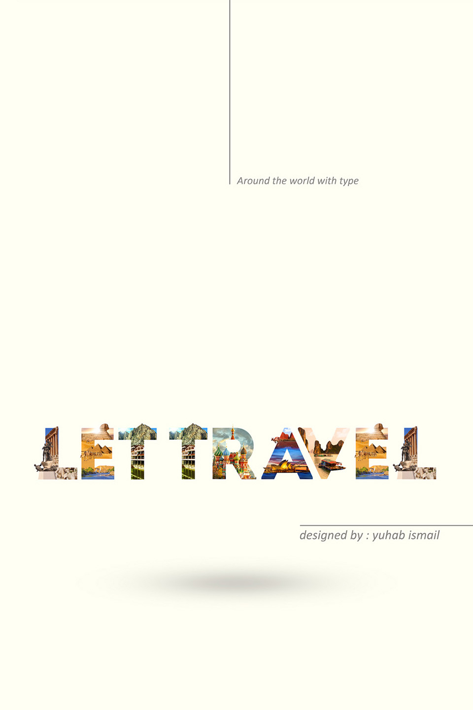 Beautiful Alphabet Series Of Countries And Their Iconic Landmarks -