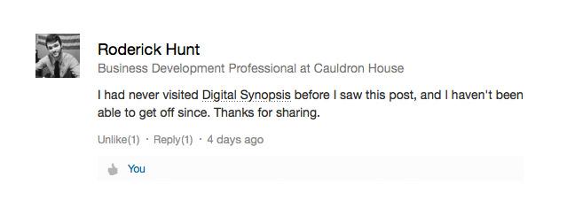 People love Digital Synopsis - 3