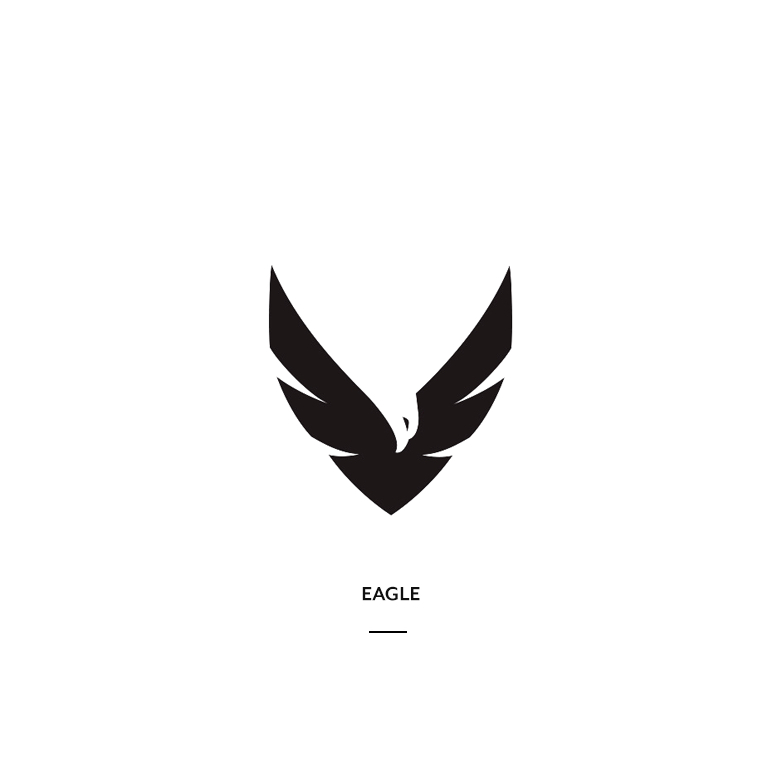 Creative Negative Space Logos - 1