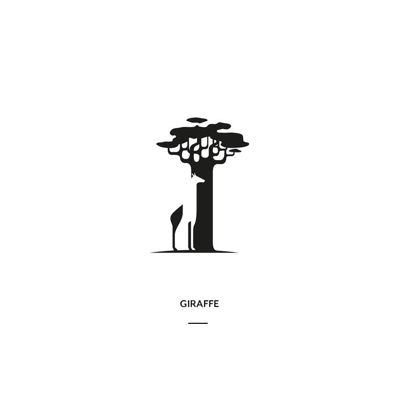 Creative Negative Space Logos - 12