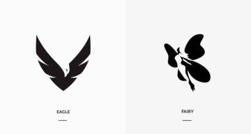 21 Beautiful Negative Space Logos