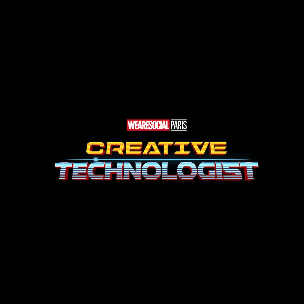 Superhero Logos for creative agency job titles - Creative Technologist / Thor