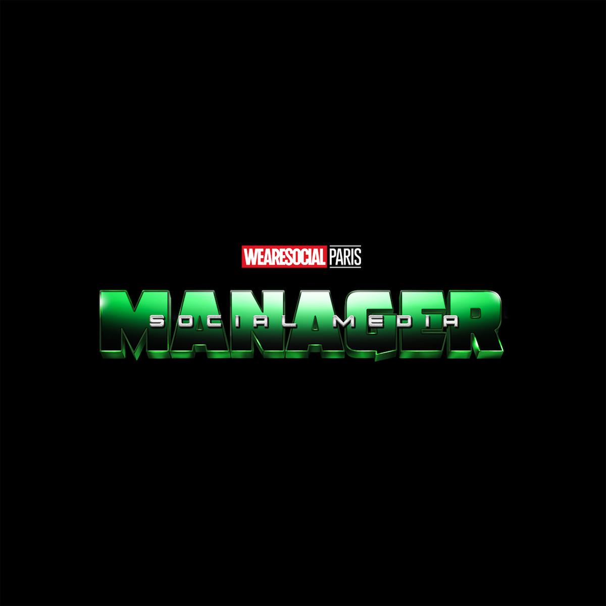 Superhero Logos for creative agency job titles - Social Media Manager / The Hulk